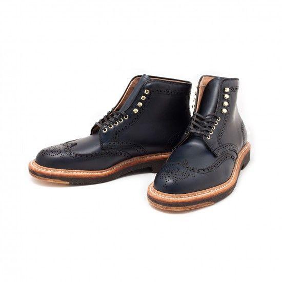 Alden x Leffot Greenwich Boot #menswear #nattyguy #leffot #boots #fashion