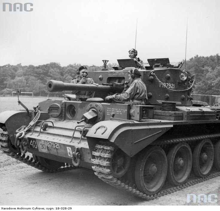 Polish Cromwell tank