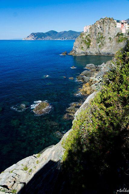 Manarola Coast, Cinque Terre, Liguria, Italy