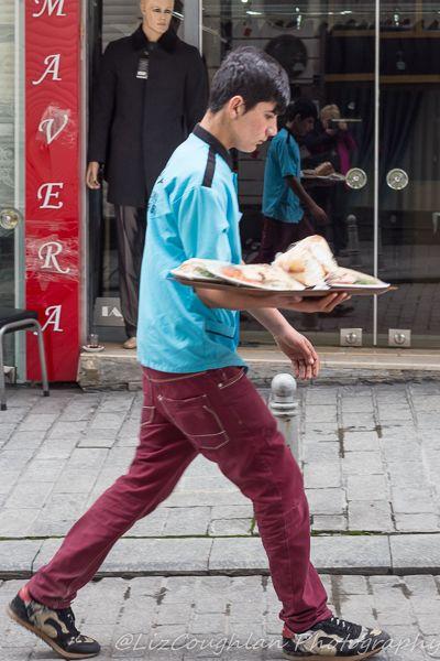 Waiter in Aksaray, Istanbul