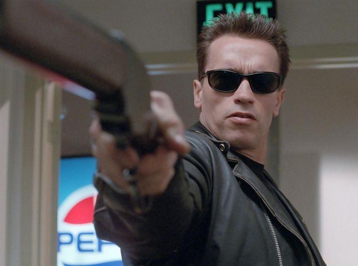 Arnold Schwarzenegger in #Terminator 2 Judgment Day (1991).