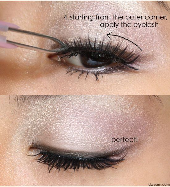 Learn How To Use Fake Or False Eyelashes Properly Fakeeyelashes