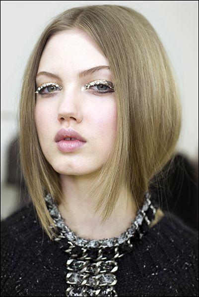 Chanel Runway Beauty: Glitter for Grown Ups