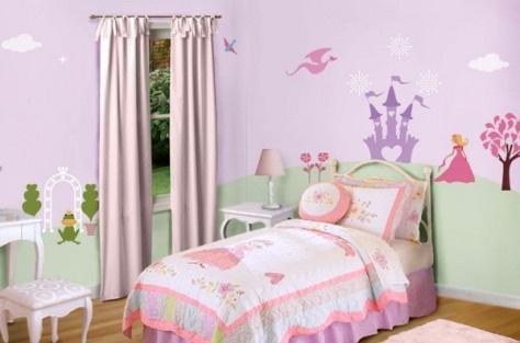 girls bedroom wallpaper bedrooms pinterest