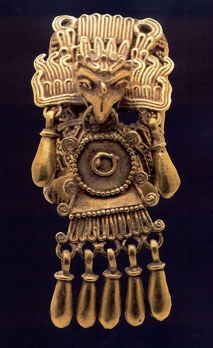 Aztec pendant