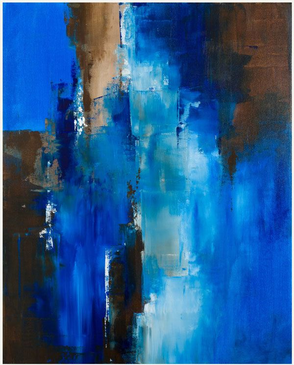 Textured Abstract Paintings by Charlen Williamson | Passage
