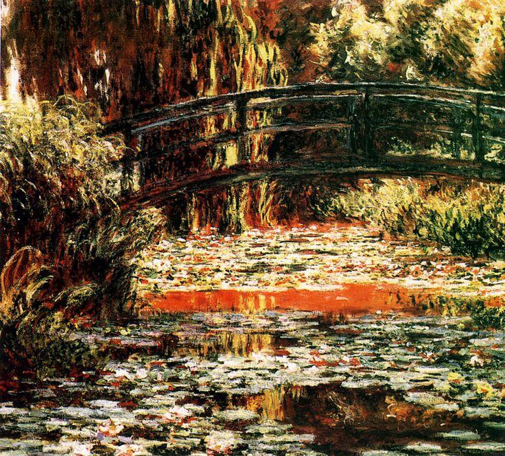 1900 C.Monet Japonski mostek w Giverny. - Claude Monet – Wikipedia, wolna encyklopedia