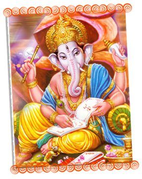 108 Names of Lord Ganesha (click on the image) https://www.youtube.com/watch?v=rbGardTzzA8 108 Lord Ganesh Namavali by Usha Mangeshkar