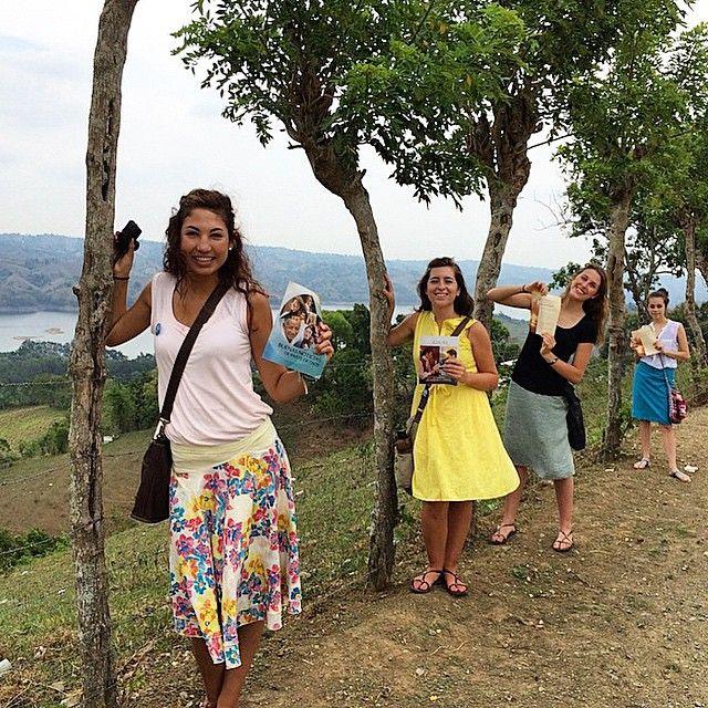 Need-greaters preaching in hard to reach Yacke de Abajo, Dominican Republic! Photo shared by @_rachel_eliza_