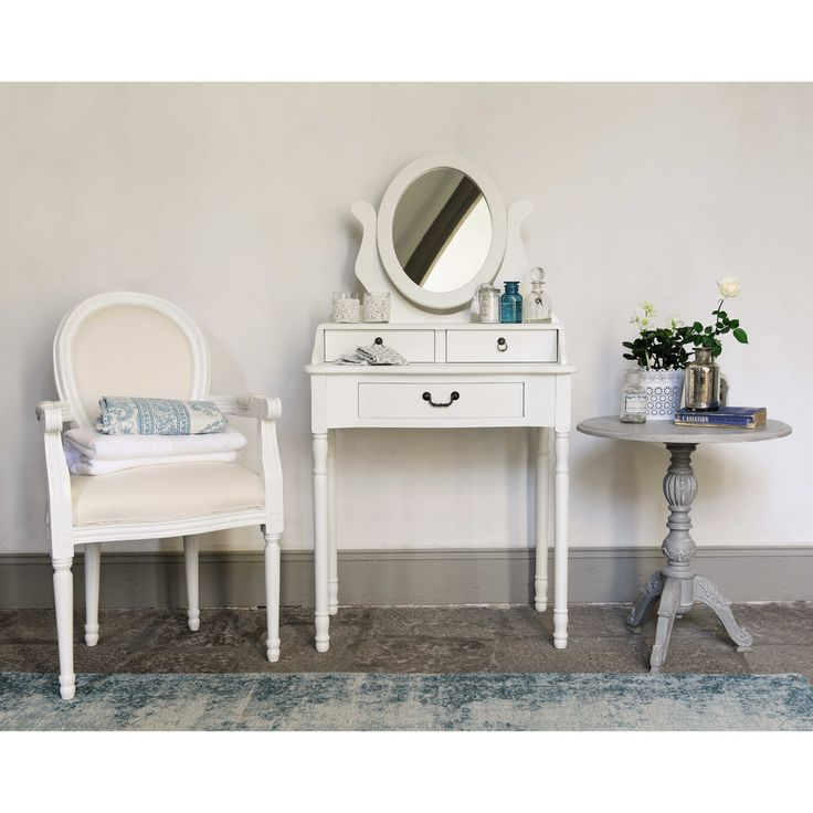 latest from maisons du monde with coiffeuse blanche ikea. Black Bedroom Furniture Sets. Home Design Ideas