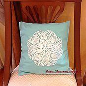 Для дома и интерьера ручной работы. Ярмарка Мастеров - ручная работа Наволочка на  диванную подушку. Handmade.
