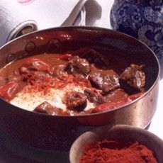 Braised Beef Goulash with Smoked Pimenton (Smoked Paprika) - For Low Carb sub flour