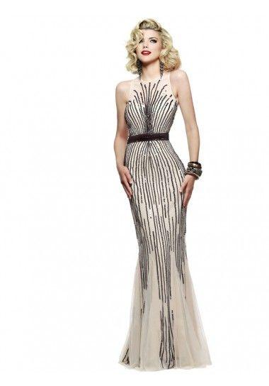 Meerjungfrau-Linie schöne Abendkleider online bestellen