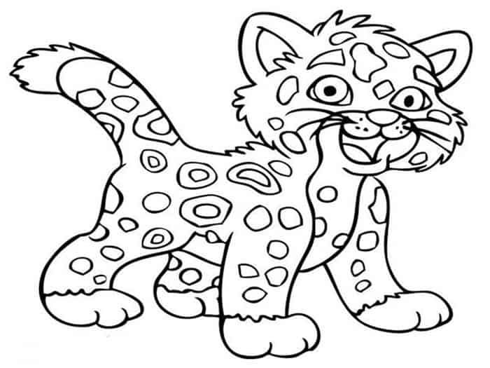Cute Cheetah Coloring Pages Coloring Pictures For Kids Free Coloring Pictures Disney Coloring Pages Printables