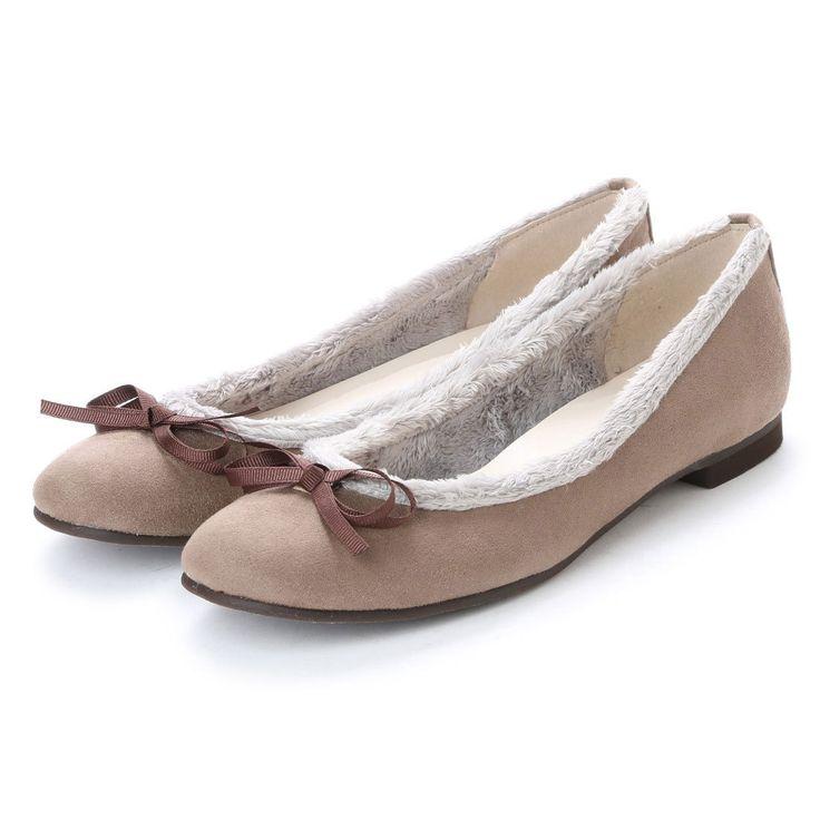 ジェリービーンズ JELLY BEANS ファートリミングバレエシューズ 103-9006 (BGS) -靴&ファッション通販 ロコンド〜自宅で試着、気軽に返品