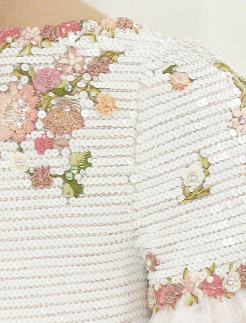 Chanel Haute Couture Detail