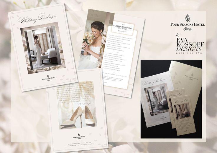 Four Seasons Hotel wedding packages @ Eva Kossoff Designs