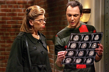 "Leonard's mother to Sheldon: "" You have a remarkable brain."" Sheldon: ""I know."": Capacit Pennies, Soft Kitty, Brain Scanning, Bangs Theroy, Christine Baranski, Big Bangs Theory, Mr. Big, Leonard Mom, Favorite Movie"