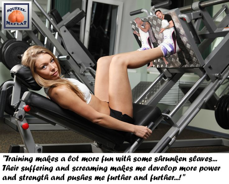 Giantess Booru (Image 186065: athletic blonde collage domination foot_crush imminent_crush legs leg_machine looking_at_viewer shrunken_men sled sneakers squeezemeflat story underfoot weight_machine) - Giantess Artwork, Giantess Collages, Giantess Vore, Giantess Everything!
