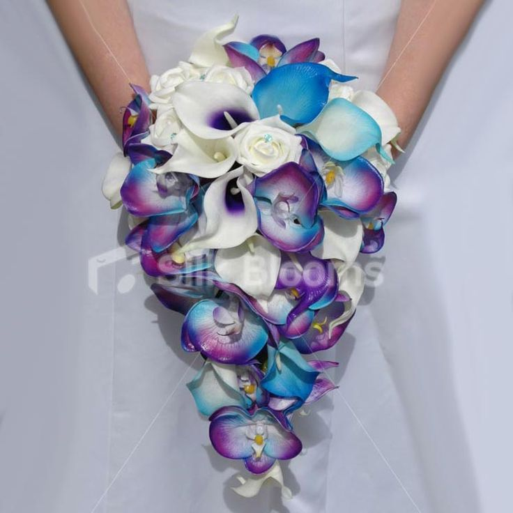 Artificial Wedding Flowers, #Cala Lily bouquet