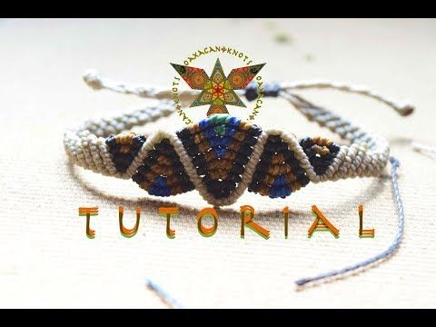 "Tutorial macramè bracciale ""Grace""/ Tutorial macrame bracelet ""Grace""/ Diy tutorial - YouTube"