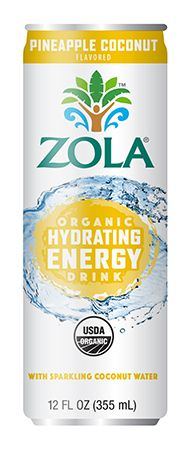 PINEAPPLE COCONUT – Zola – Coconut Water Organic Acai Juice Hydrating Energy Drinks