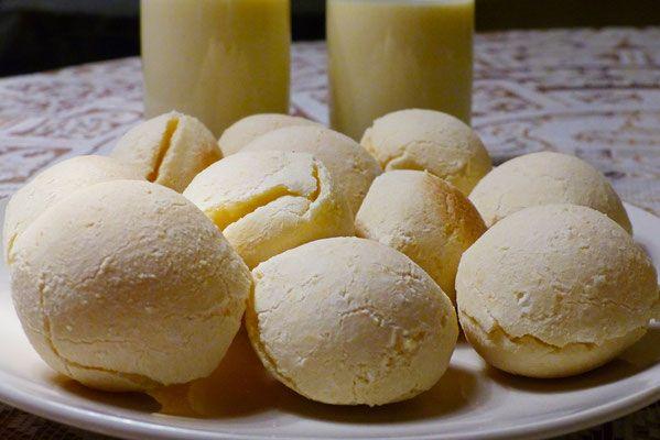 pain au manioc et fromage