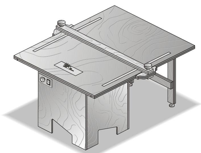M s de 25 ideas incre bles sobre mesa para sierra circular for Mesa sierra circular