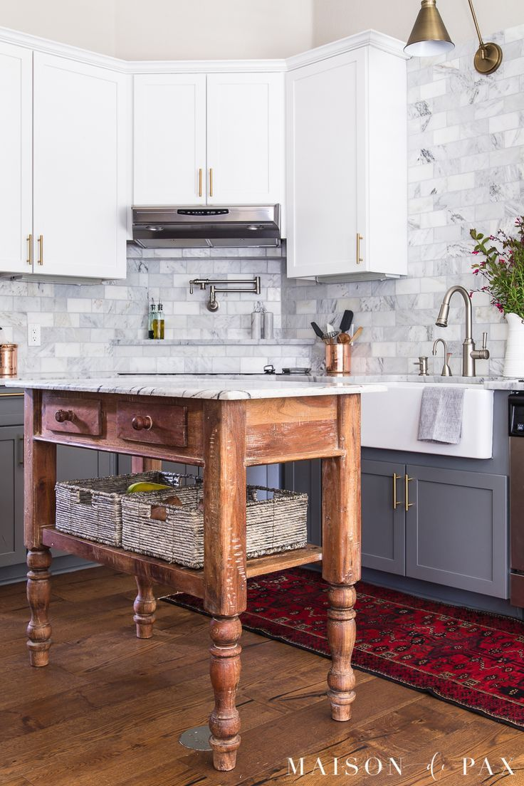 Kitchen with no window  modern kitchen decor  kitchen organizing ideas easy access produce