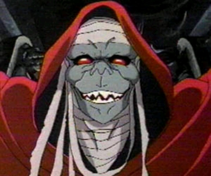 Mumm-Ra from Thundercats