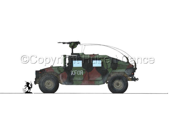 КУА M1114 бронированных автомобилях hmmwv