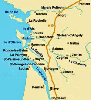 Choisissez votre hébergement vacances et courts séjours en Charente-Maritime et sur la Côte Atlantique