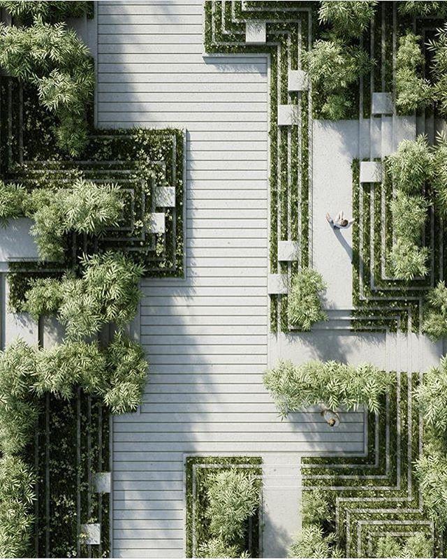 #architecture_hunter Magic Breeze Landscape Design By