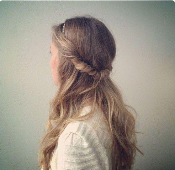 Semiraccolto per capelli lunghi