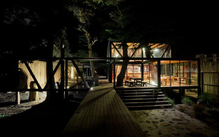 Surazo Hotel at Matanzas, Chile