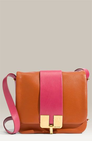 marc jacobs 'Bamboo' Leather Crossbody Bag
