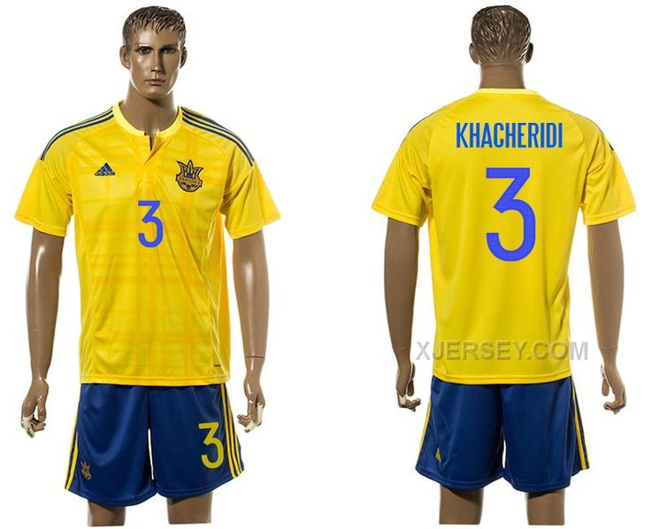 http://www.xjersey.com/ukraine-3-khacheridi-home-euro-2016-jersey.html UKRAINE 3 KHACHERIDI HOME EURO 2016 JERSEY Only $35.00 , Free Shipping!