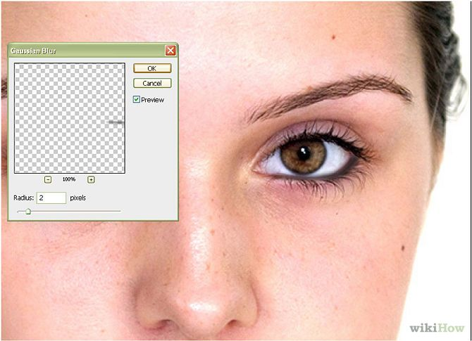 How to Apply Eyeliner in Photoshop: 7 Steps - wikiHow