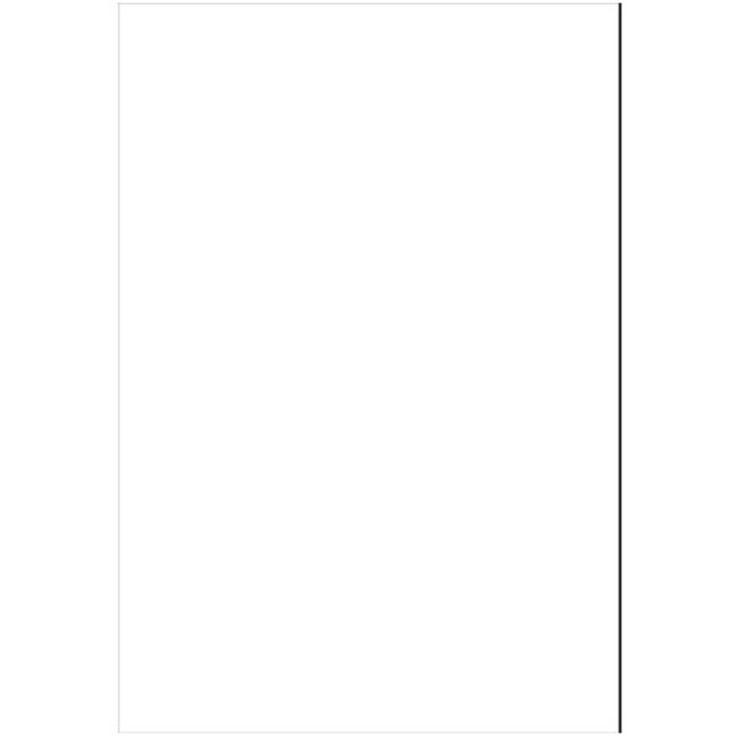 Midwest White Styrene Sheet 27.9 x 19.4 x 0.15 cm