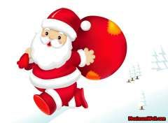 wallpapers Paysages pere noel