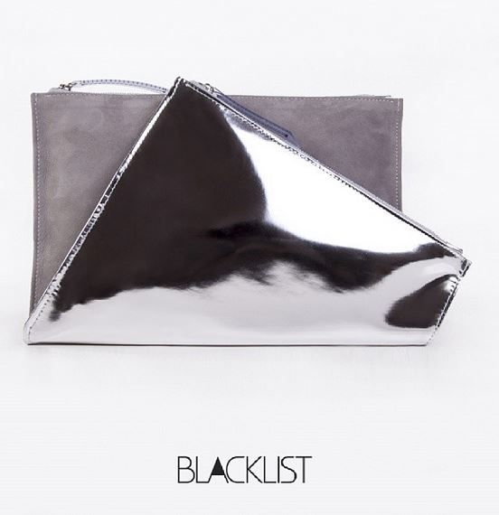 Bodycon Collection - 2014 leather clutch