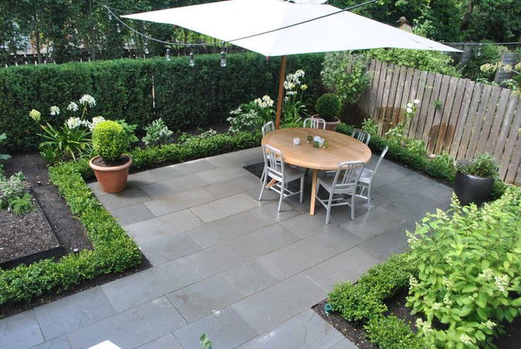 Small Backyard Landscaping, I would love to have this very clean space for an extended eating area outside @ the garden.