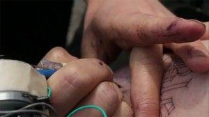 Scott Campbell Prison Tattoo