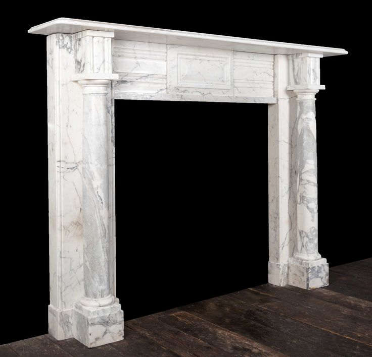 Marble fireplace – 19311 – 19th Century, 19th Cent…
