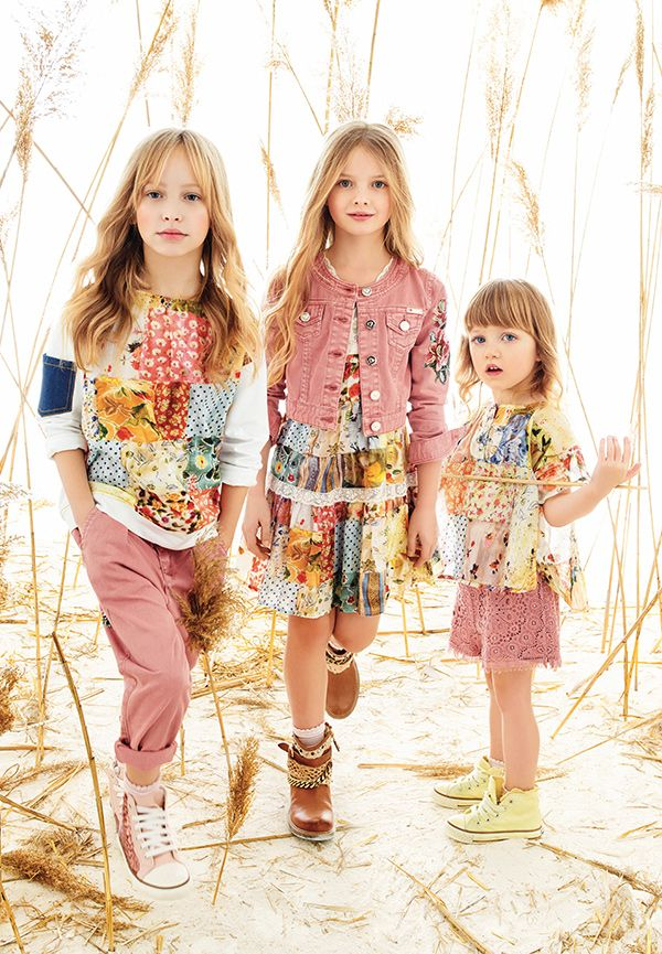 Fannice Kids Fashion » Kids fashion blog – From love for kids and fashion addiction, the passion for kids' fashion » Twin-set girl spring summer 2016 flowers