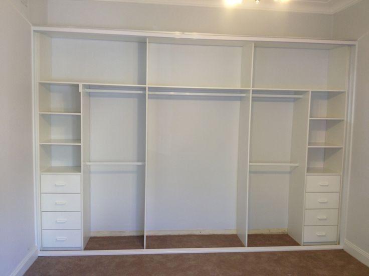 Image result for inbyggd garderob snedtak