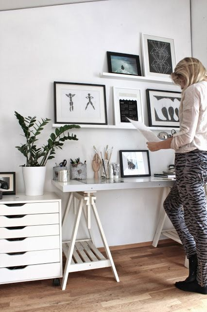 my scandinavian home: A present for you from me! ck great idea putting calendar in a frame