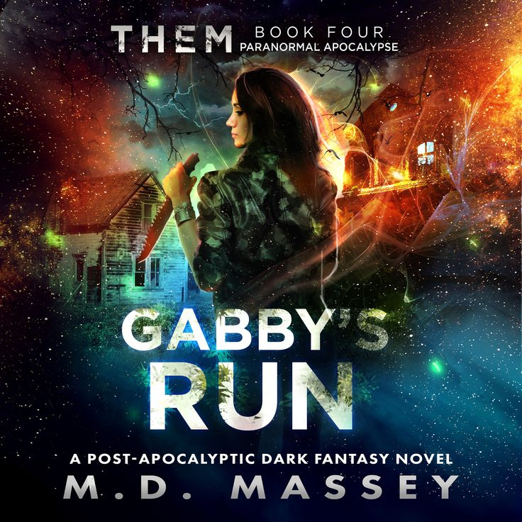 THEM: Gabby's Run is now available in #audiobook format on #Audible -  #paranormal #urbanfantasy #zombies