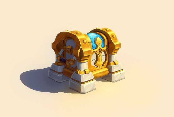 Original concept by: Arslan Shyriiev https://www.artstation.com/artwork/wEOR6  I'm planning on taking this and doing a more stylized sculpt pass in ZBrush. Feedback is welcome over on my Polycount thread. http://polycount.com/discussion/166955/paladin-chest#latest