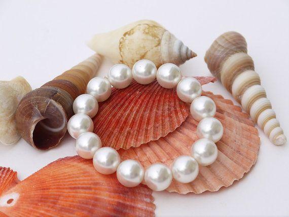 Pearl Bridal Jewelry Bridal Bracelet Wedding by DesignByIrenne